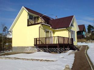 Васкелово, Ленобласть, Всеволожский район, аренда коттеджа загородом, фотографии и описание